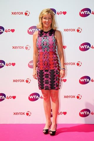 CHRIS EVERT NAMED OFFICIAL AMBASSADOR OF THE WTA CHAMPIONSHIPS IN SINGAPORE banner
