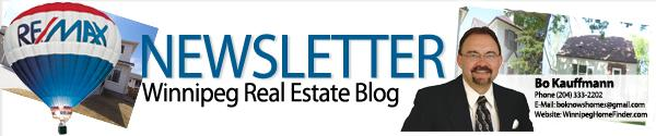 Winnipeg Real Estate Podcast Winnipeg real estate market real estate agent Real estate market luxury homes housing home selling e newsletter Dream Home condominiums Bo Kauffmann 2013  Winnipeg Real Estate E Newsletter for February 2013