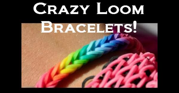 Crazy Loom Rubber Band Bracelet Maker Review 2013-2014 banner