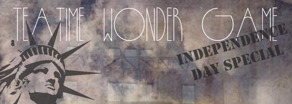 Teatime Wonder Game is back at Tea House Theatre! banner